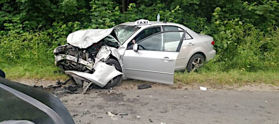Śmiertelny wypadek pod Iławą. Nie żyje 55-latek
