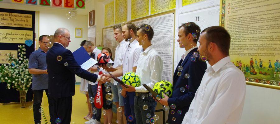 Zakończenie roku szkolnego w OSWdDG w Olecku