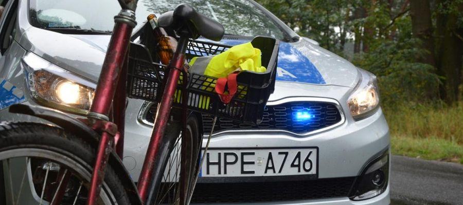 12-latka wjechała rowerem na przejście wprost pod samochód