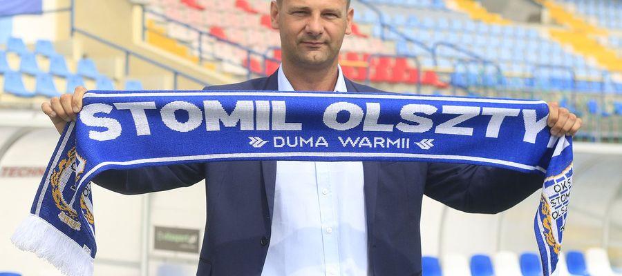 Adrian Stawski został trener em Stomilu Olsztyn