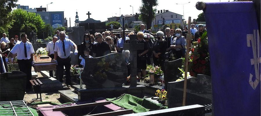 Migawka z pogrzebu znanego pasjonata motocykli