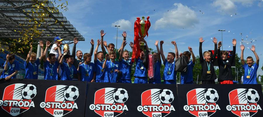 Kadrowicze WMPZN zdobyli główne trofeum Ostróda Cup 2021