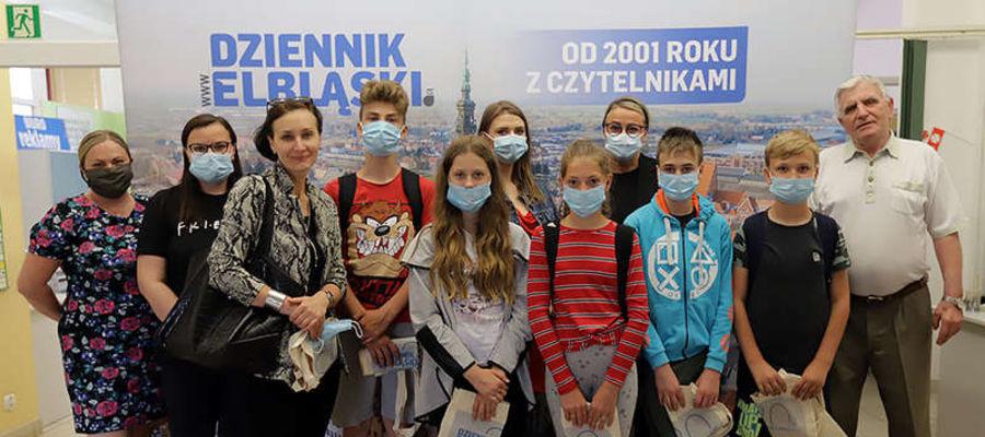 Naszą redakcje odwiedzili uczniowie i uczennice ze Szkoły Podstawowej w Błudowie