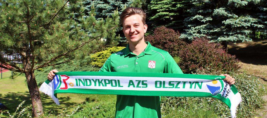 Karol Jankiewicz został nowym rozgrywającym Indykpolu AZS Olsztyn