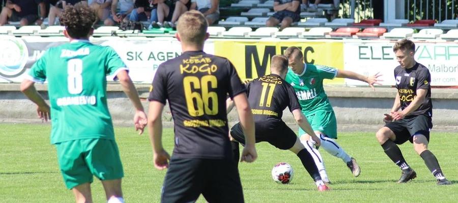 W Braniewie gola na wagę 3 punktów zdobył Mateusz Barszczewski