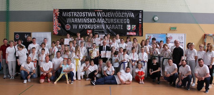 Wśród uczestników pojawiło się wielu medalistów mistrzostw Polski