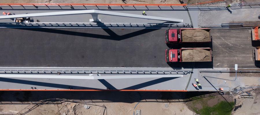 Jeśli wszystko odbędzie się zgodnie z planem, to most stanie się przejezdny dla kierowców jeszcze w tym miesiącu