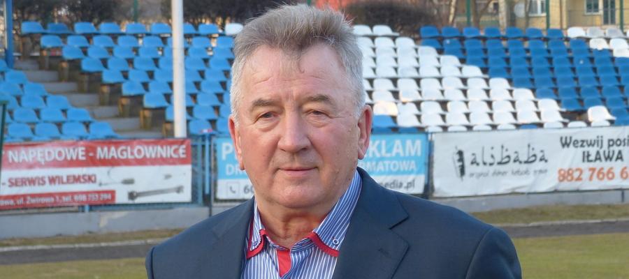 Andrzej Sobiech jest prezesem Jezioraka Iława od dokładnie 6 lat