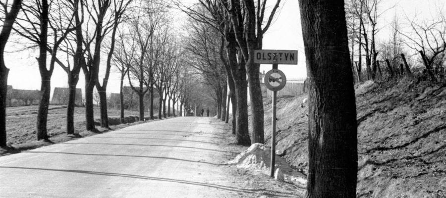 Tak wyglądał wjazd do Olsztyna ulicą Pstrowskiego w 1959 roku