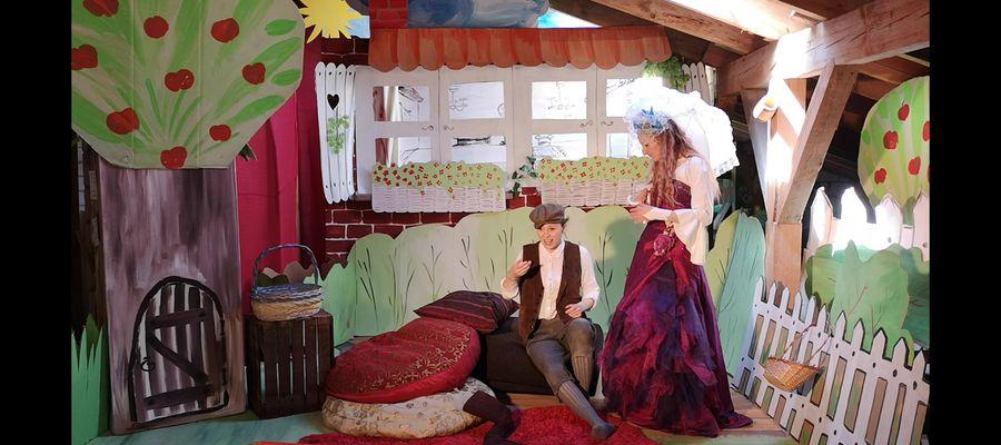 Jedna ze scen przedstawienia