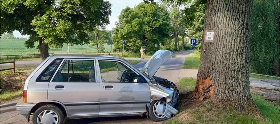 Wypadek w Dobrzykach