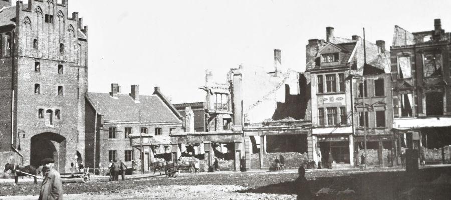 Wysoka Brama, druga połowa lat 40. XX wieku