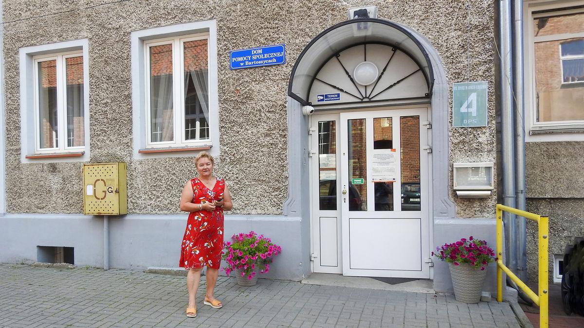 Maria Kobuszewska, dyrektor Domu Pomocy Społecznej w Bartoszycach