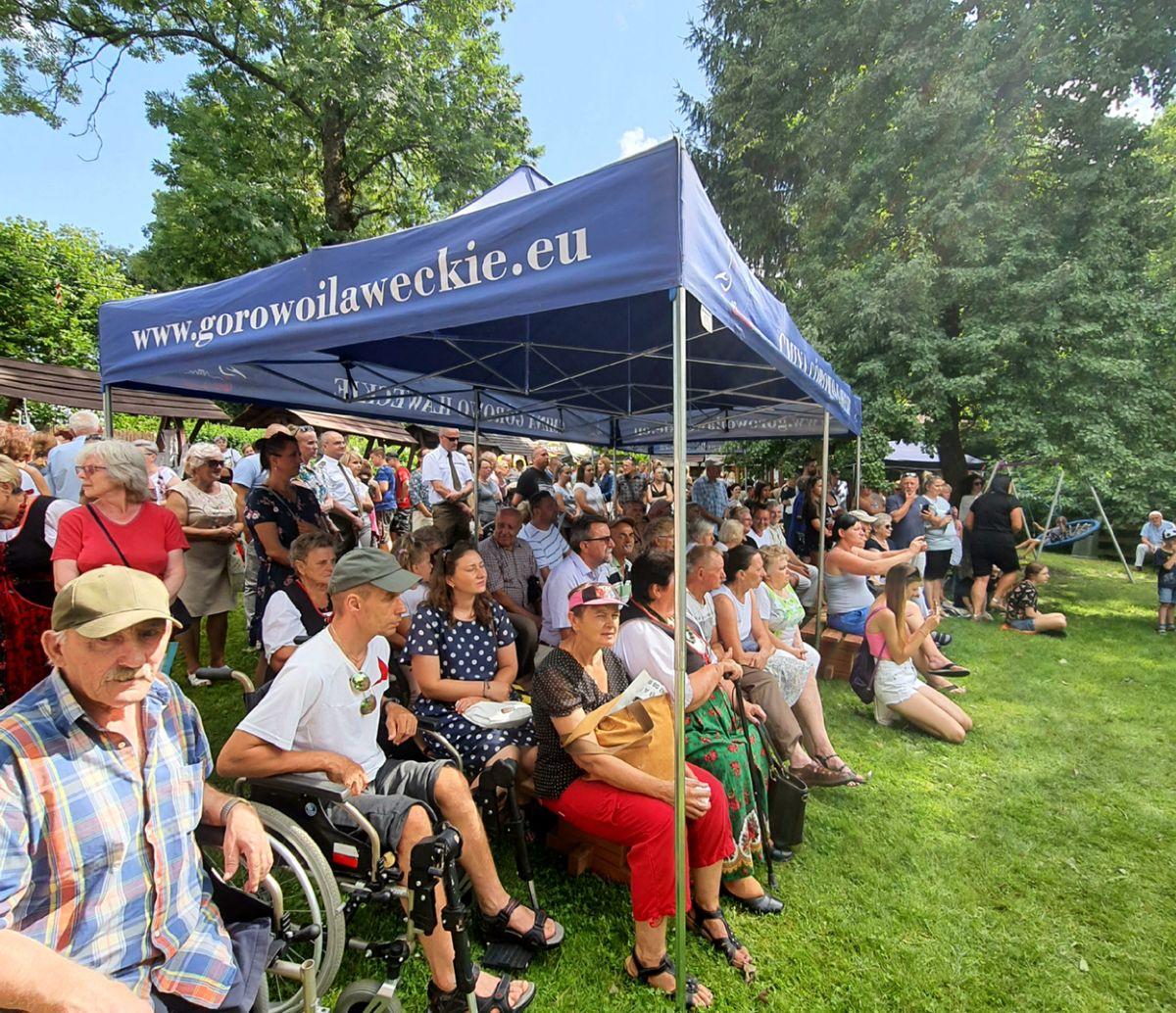 Festyn w Żywkowie zgromadził liczą publiczność.