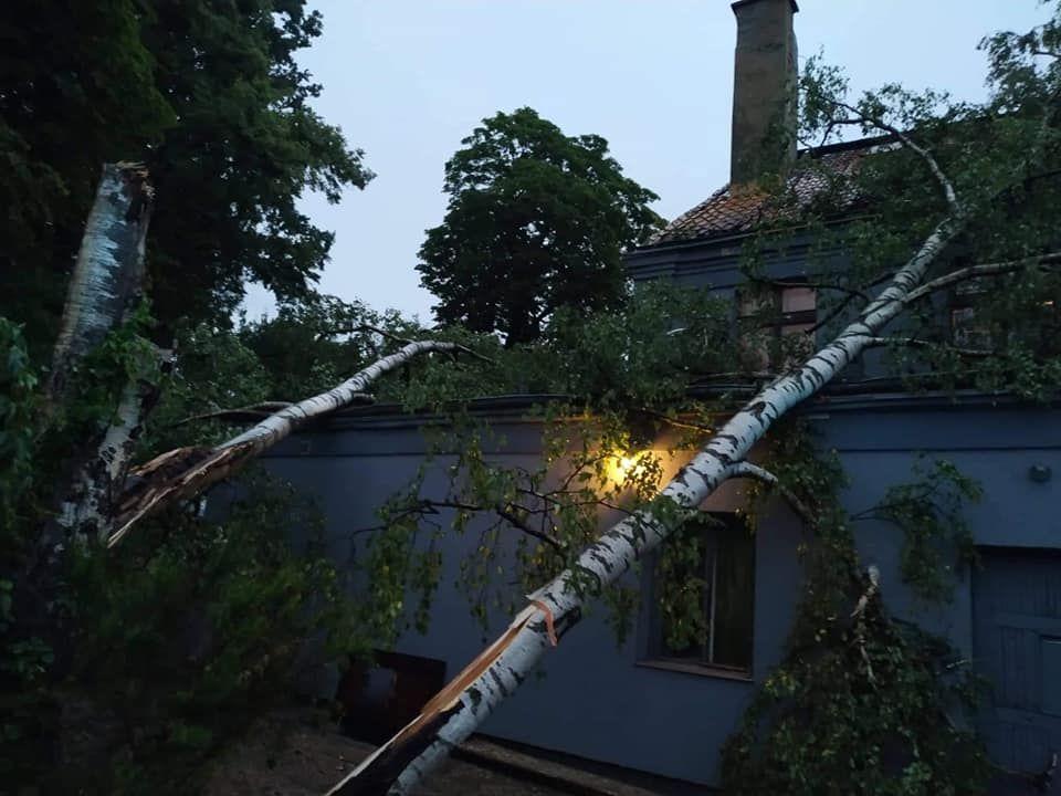 Burza w powiecie bartoszyckim wyrządziła wiele szkód