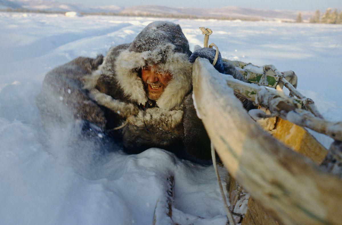 W drodze na biegun zimna w Jakucji