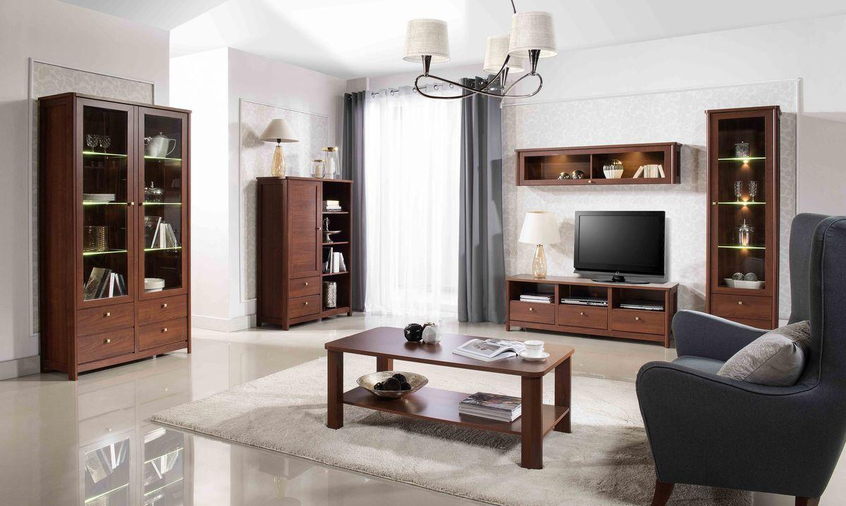Nowoczesny design i stylowa klasyka, to znak rozpoznawczy mebli z kolekcji Caldo. Subtelne detale w kolorze złota i minimalistyczna stylistyka podkreślają prestiż mebli.