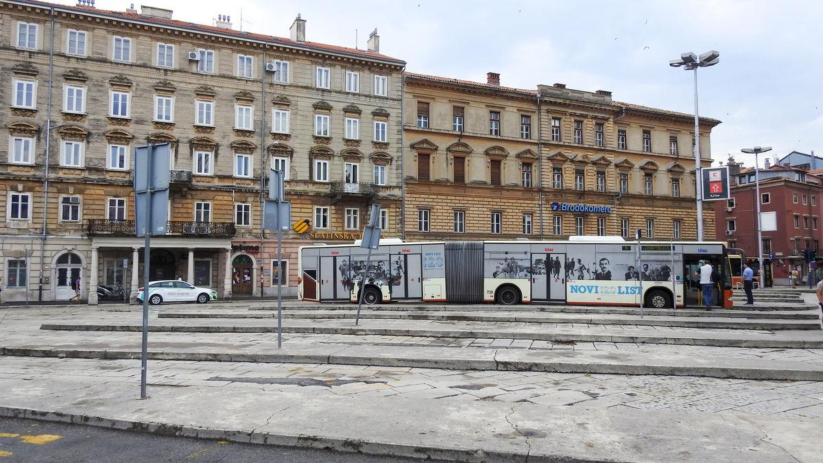Dworzec w Rijeka (Jelačićev trg)