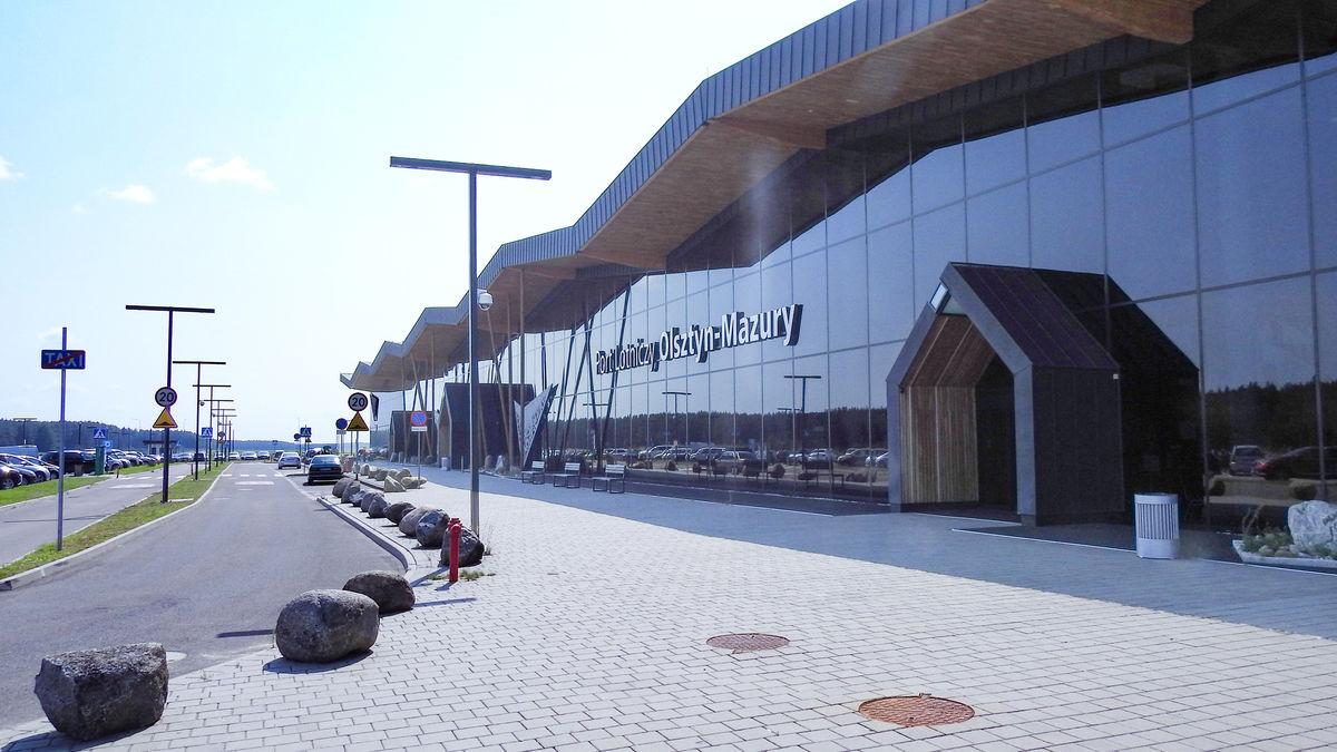 Port Lotniczy Olsztyn- Mazury w Szymanach