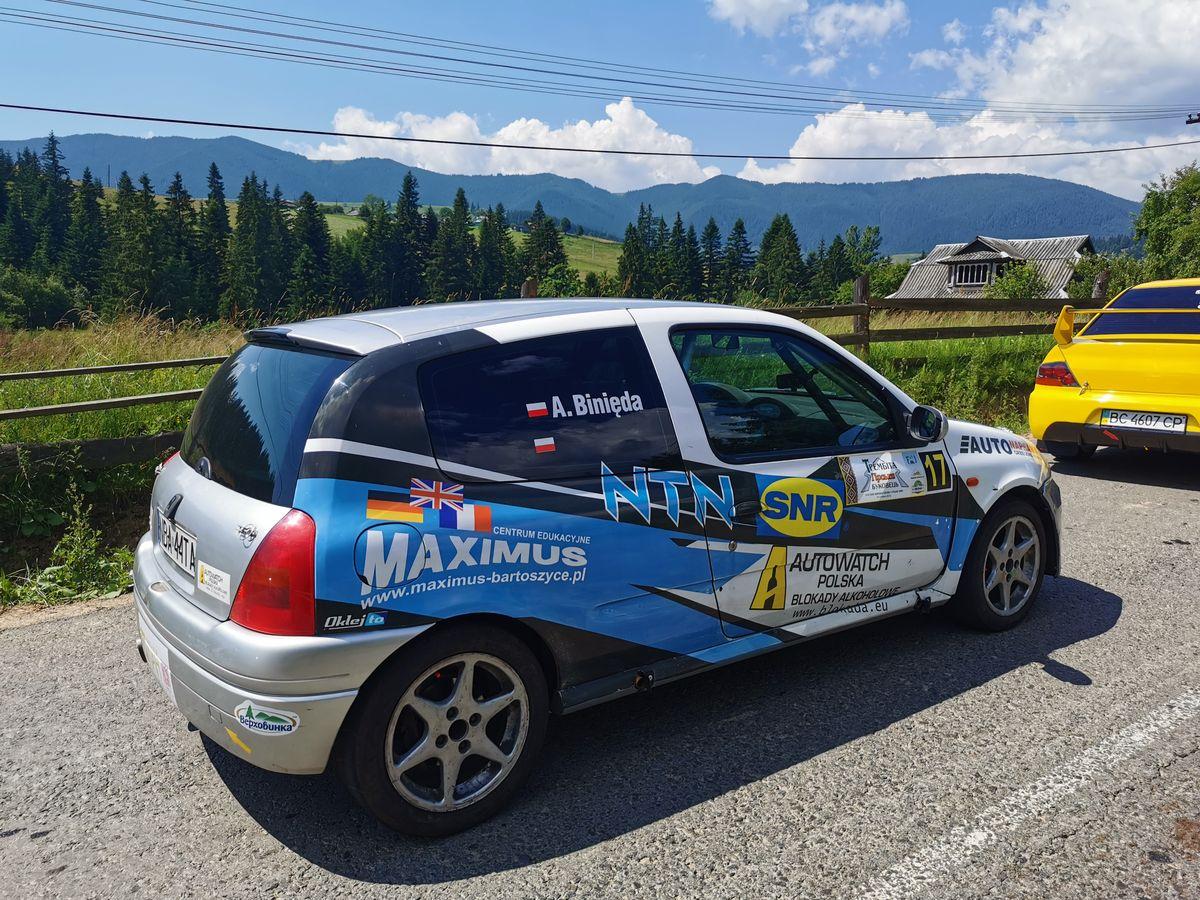 Zawody odbyły się w górach  Karpackich na Ukrainie