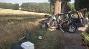 Groźny wypadek pod Barcianami