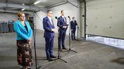 Premier Morawiecki w Dobrym Mieście zapowiada zmniejszenie wpływu państwa na gospodarkę