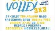 MOSiR zaprasza: Turniej siatkarskich trójek