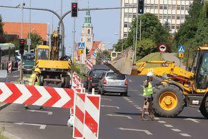 FOTOMIGAWKA: Jak wyglądają przygotowania do budowy nowej linii tramwajowej w Olsztynie [ZDJĘCIA]