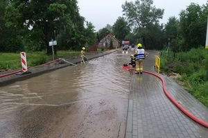 W Olsztynie rekordowe opady deszczu! Będzie lało cały dzień
