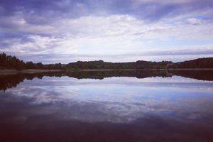 Prenumerata za zdjęcie. Jezioro Żbik w Olsztynie