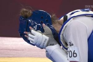 Tokio 2020: Olsztynianka Aleksandra Kowalczuk przegrała brąz w taekwondo