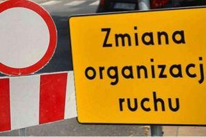 UWAGA! Czasowa zmiana organizacji ruchu na ulicach Mrągowa