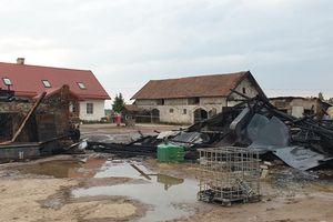 Duży pożar w Sokołach. Rodzina liczy na wsparcie...