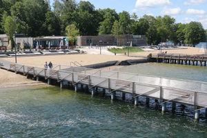 Będzie nowe molo na plaży miejskiej w Olsztynie