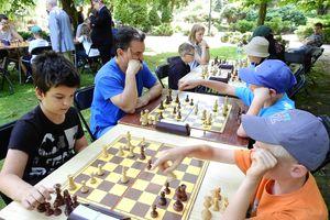 Szachiści walczyli na Przystanku Olecko