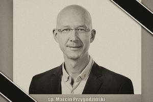 Nie żyje Marcin Przygodziński