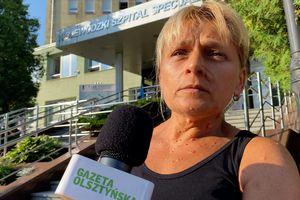 Salowe protestowały przed szpitalem wojewódzkim w Olsztynie