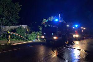 Jednostki straży pożarnej interweniowały na terenie powiatu GALERIA