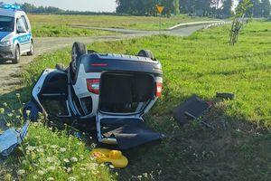 Kompletnie pijana prowadziła samochód. Miała ponad 2 promile