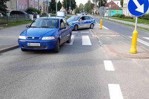 Potrącenie na przejściu dla pieszych w Bartoszycach