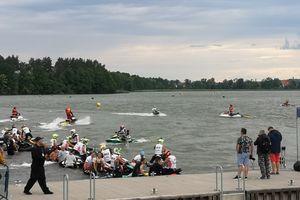 W Ełku trwają Mistrzostwa Europy Skuterów Wodnych