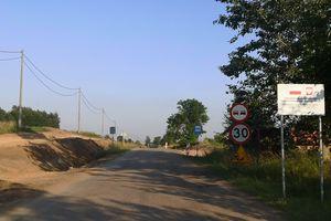 Trwają prace na drodze Szarejki – Nowa Wieś Ełcka