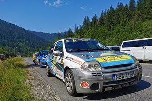Adam Binięda za kierownicą w Mistrzostwach Ukrainy
