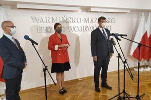Olga Semeniuk w Olsztynie: Naszym zadaniem jest pobudzenie inwestycji