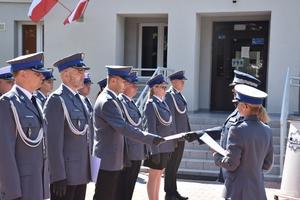 Święto Policji w Piszu. Kogo odznaczono, kto awansował?