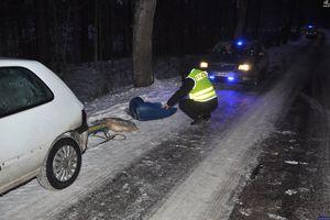 Wypadek podczas kuligu. Kierowca usłyszał zarzuty