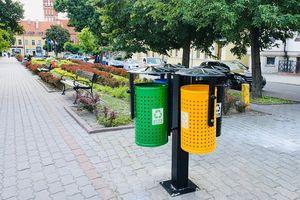 Nowe uliczne śmietniki do segregacji już stoją