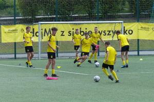 Być jak Łukasz Piszczek! Nad Jeziorakiem trwa obóz piłkarski Borussii Dortmund