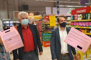 Kierowniczka Intermarche w Olsztynie chce zastraszyć byłych pracowników