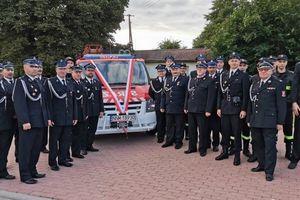 Przekazany strażakom ford wpłynie na poprawę bezpieczeństwa